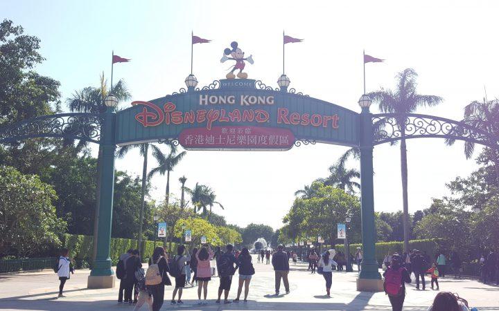 Hong Kong Disney image taken Nike Akintokun