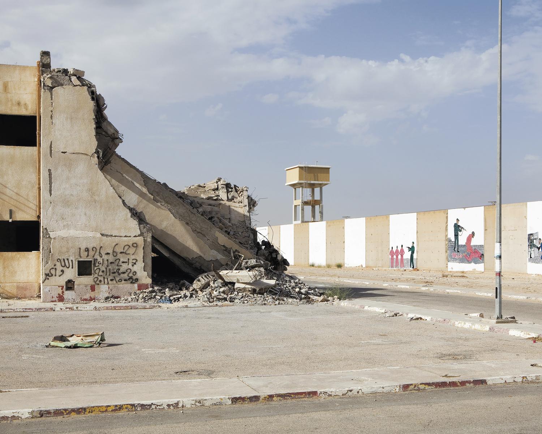A prison in ruins
