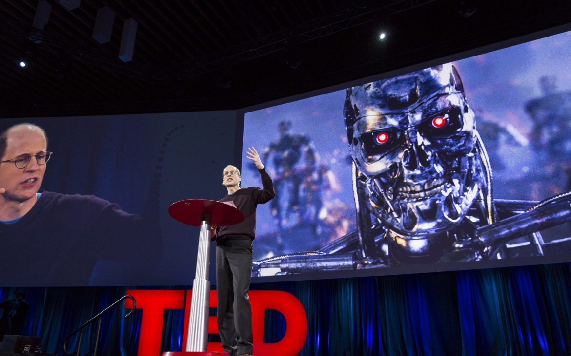 Nick Bostrom speaks at TED2015 - Truth and Dare, Session 3, March 16-20, 2015, Vancouver Convention Center, Vancouver, Canada. Photo: Bret Hartman/TED