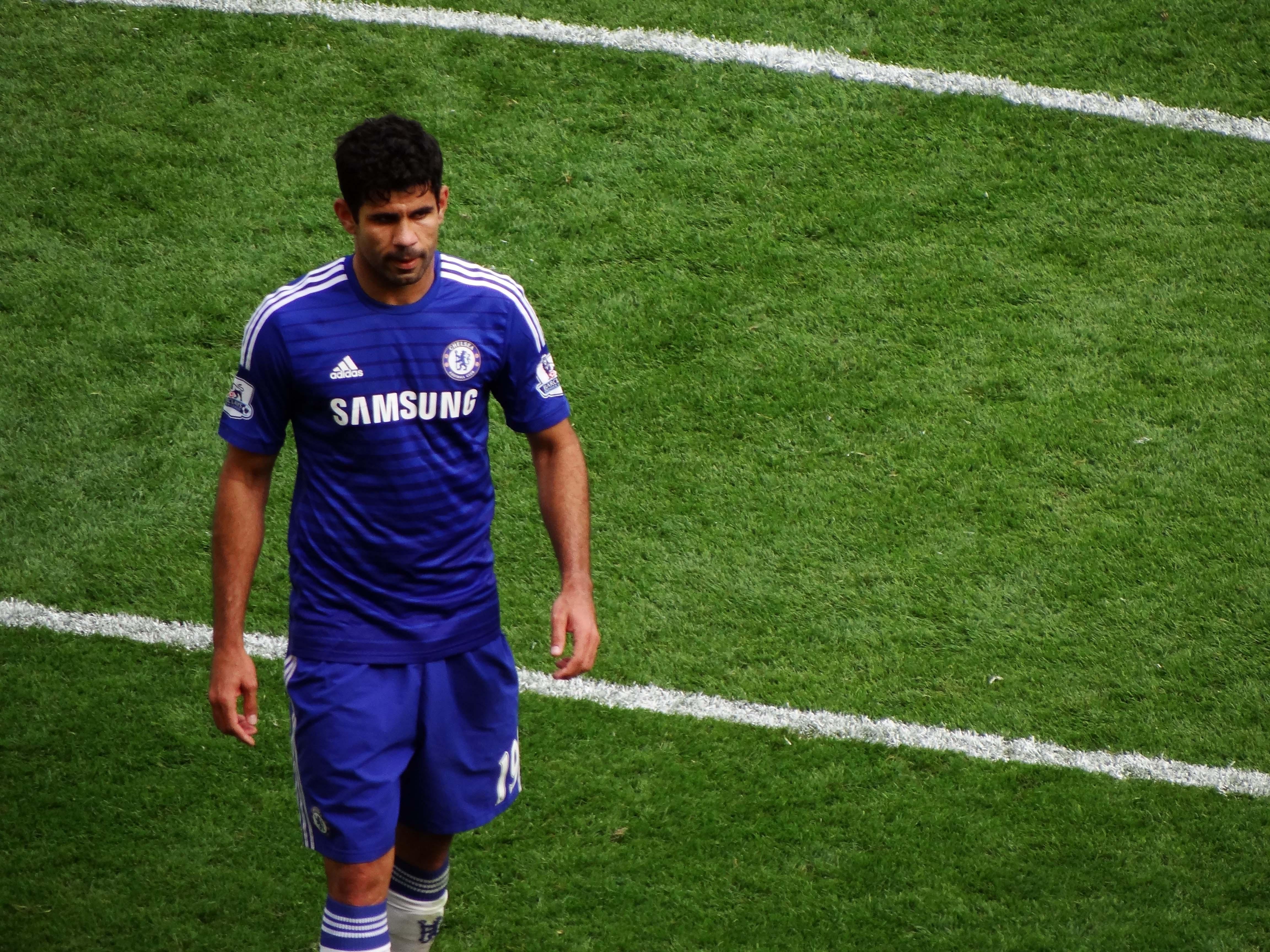 Footballer Diego Costa