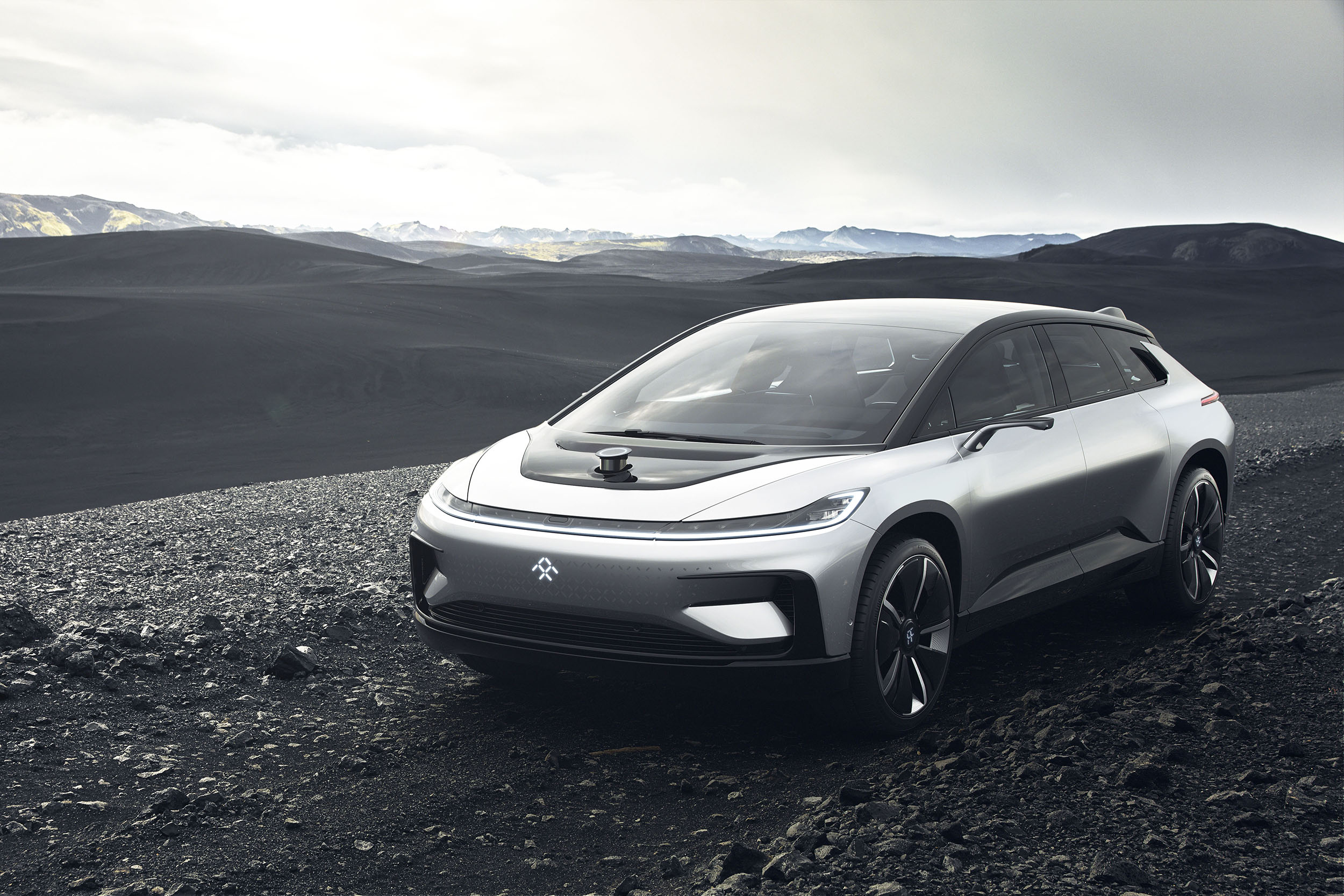 Concept car in Iceland