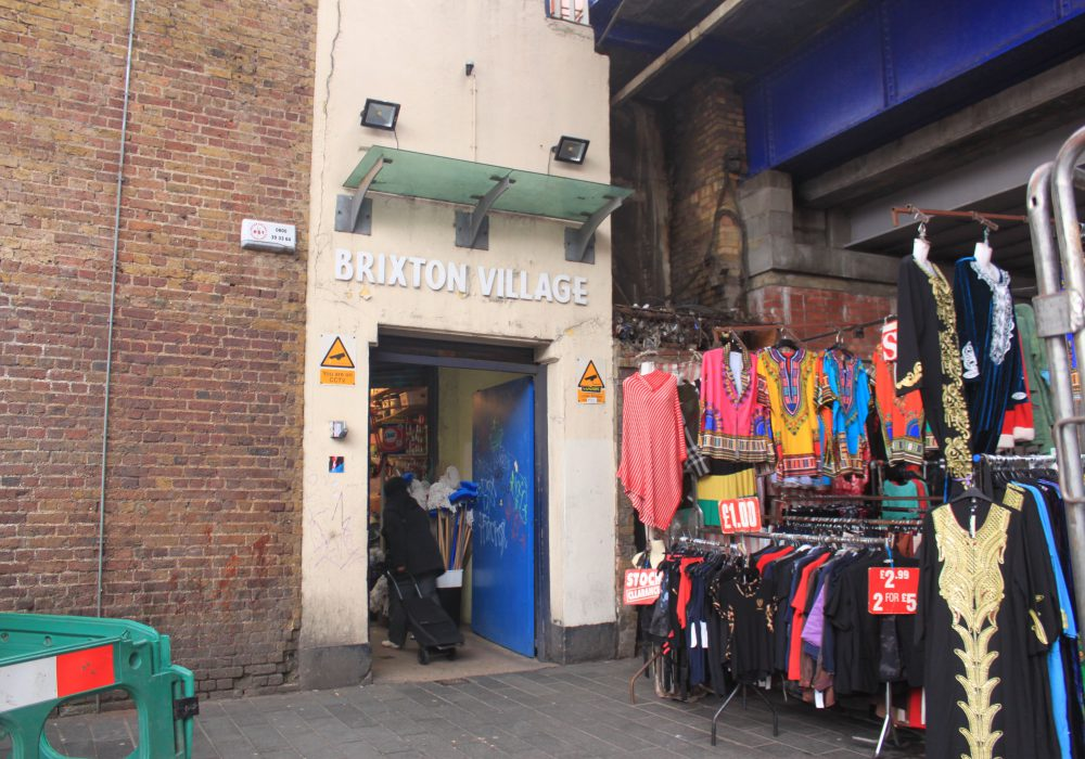 Entrance to Brixton village shop