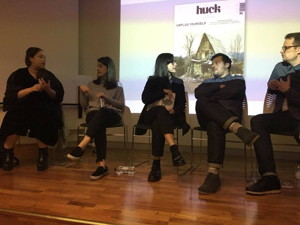 Independent magazine panel