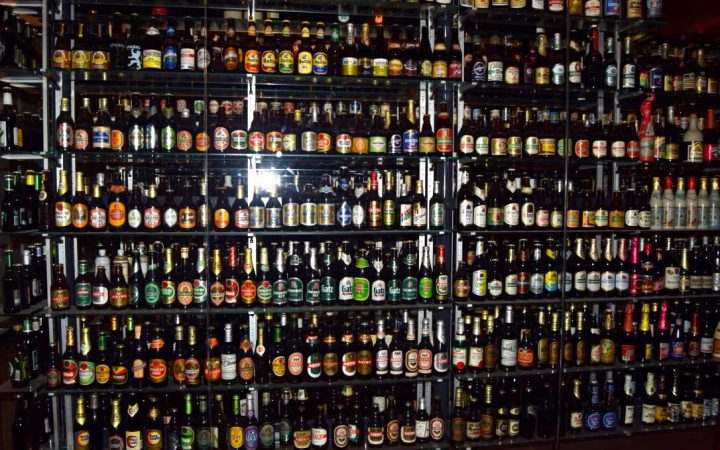 The Carlsberg Brewery bottle collection