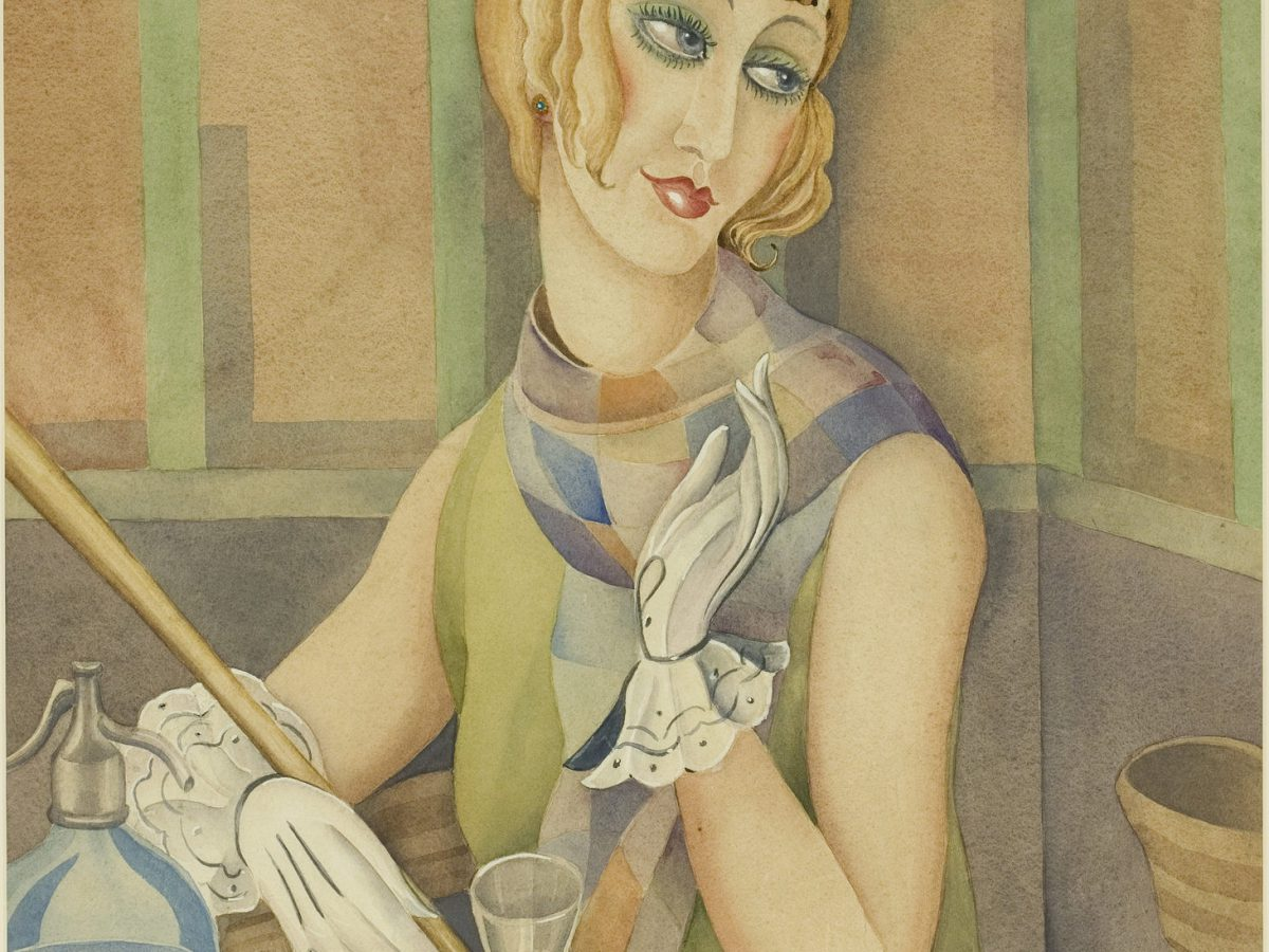 Gerda Wegener portrait