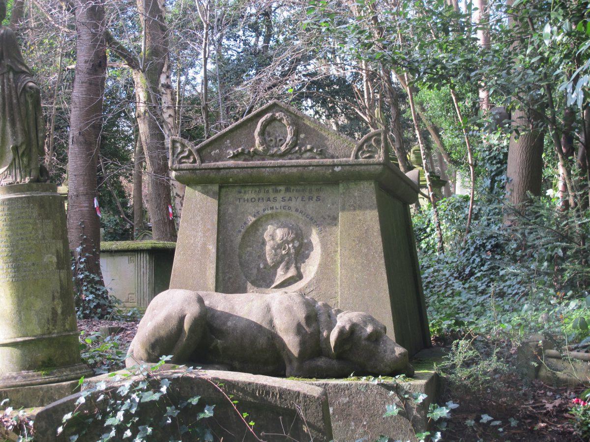 Thomas Sayers grave