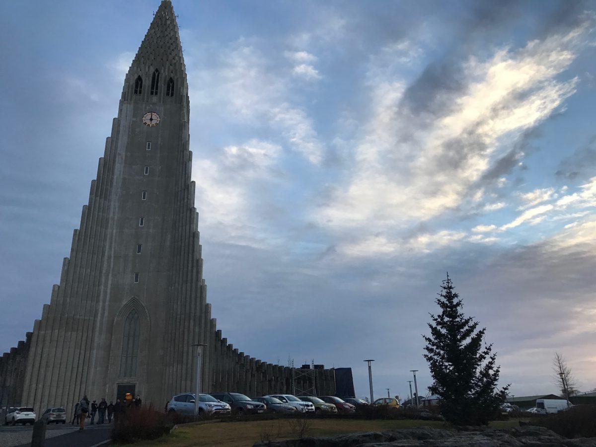 Reykjavik, Hallgrímskirkja Church Iceland