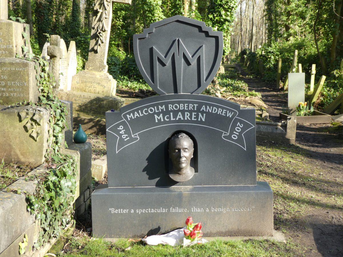 Malcolm McLaren grave
