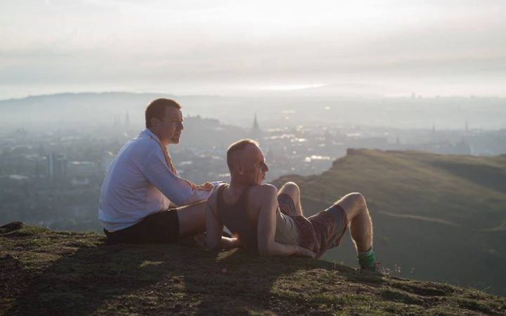 Renton and Spud from the movie Trainspotting 2