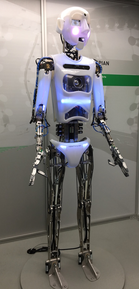 British robot RoboThespian