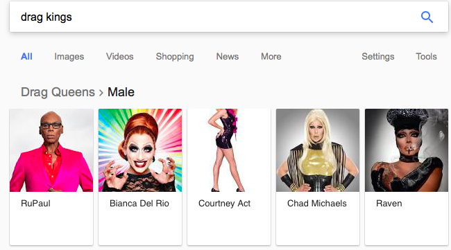 drag king google search