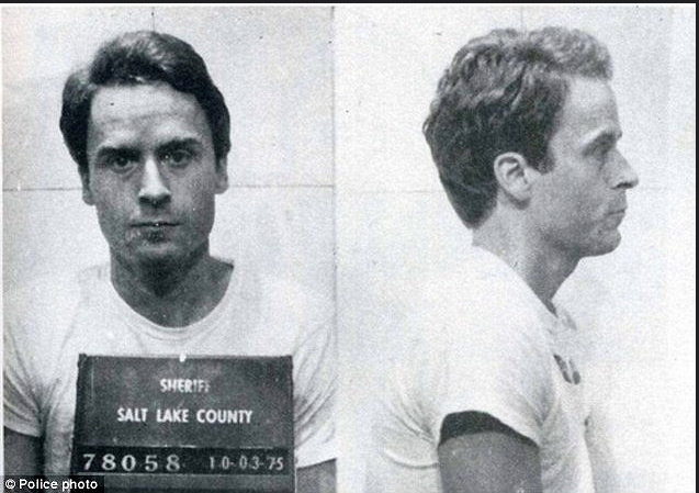 Ted Bundy's Mugshot