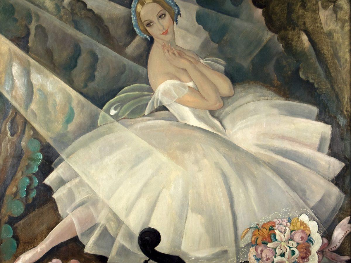 Gerda Wegener picture of a ballerina