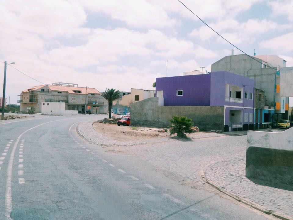A street in Cape Verde