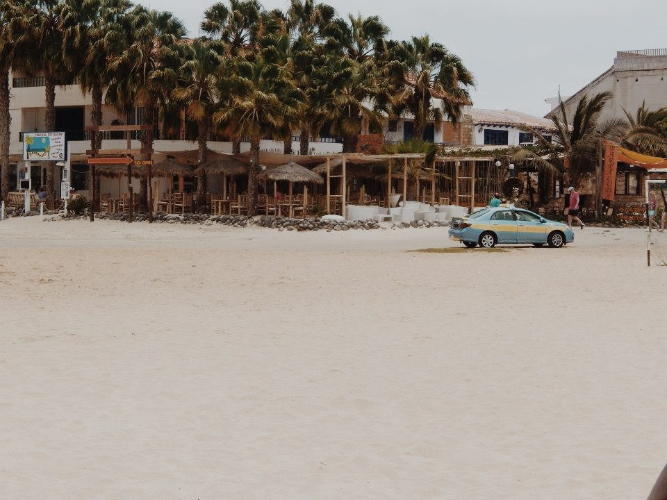A cafe in Cape Verde