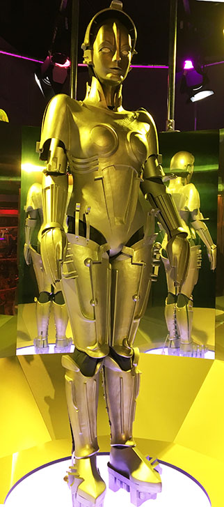 Robot used in the film Metropolis