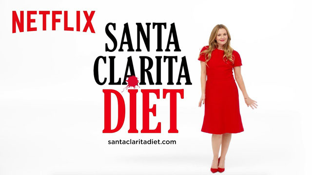 Netflix promotional poster for the television show Santa Clarita Diet