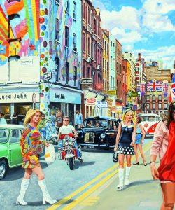 carnaby street, soho, retro, 1960s, 60s, vintage