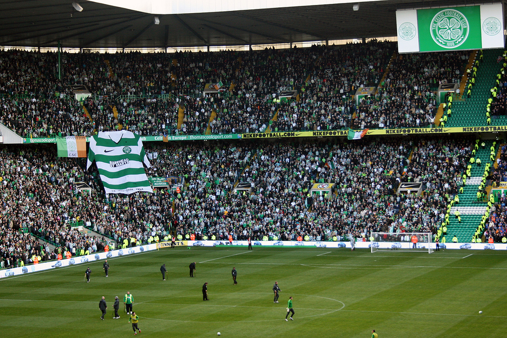 Crowd at Celtic FC