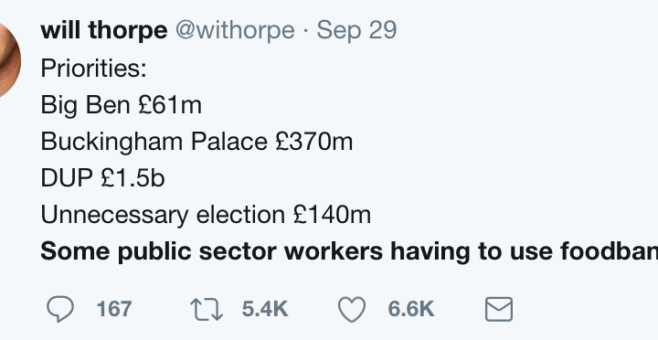 Twitter, Screenshot, London, Public Sector