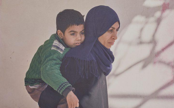 Abbas, 7 and Adira, 30