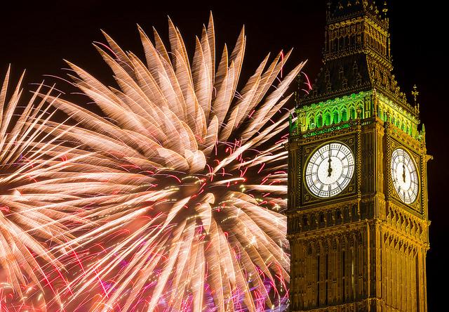 Fireworks by Big Ben