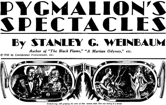 Stanley G. Weinbaum - Pygmalion's Spectacles 1935