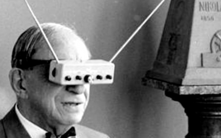 Hugo Gernsback's 'TV Glasses'