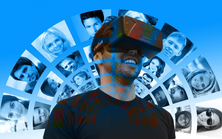 "The Social Network in the world of Virtual Reality <br /> <a href=""https://pixabay.com/en/users/geralt-9301/"">Gerd Altmann</a>"