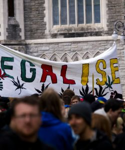 Legalise Cannabis protest