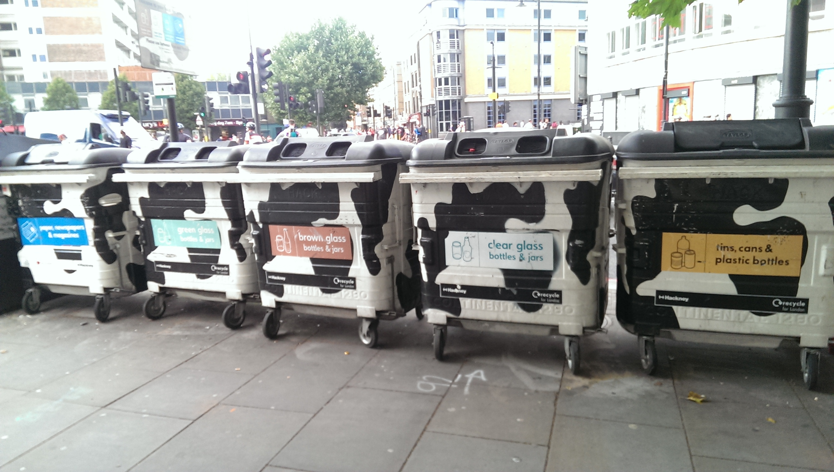 hackney, recycling, bin, london, east london, waste
