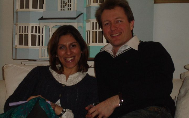 Nazanin and Richard Ratcliffe