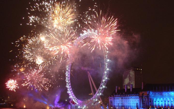 bonfire night fireworks in london 2017