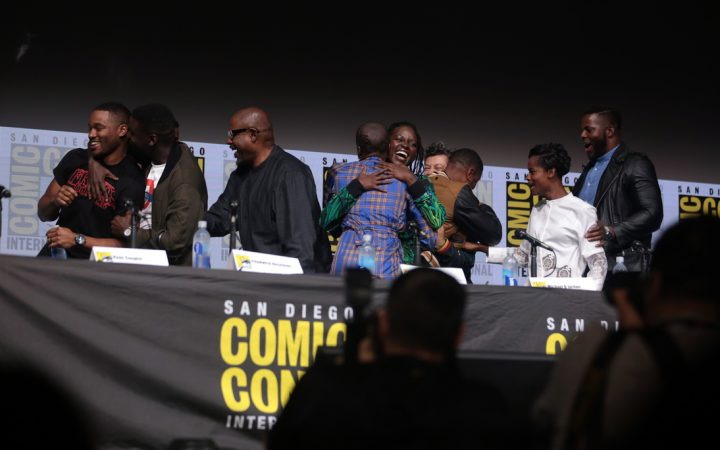 Cast of The Black Panther