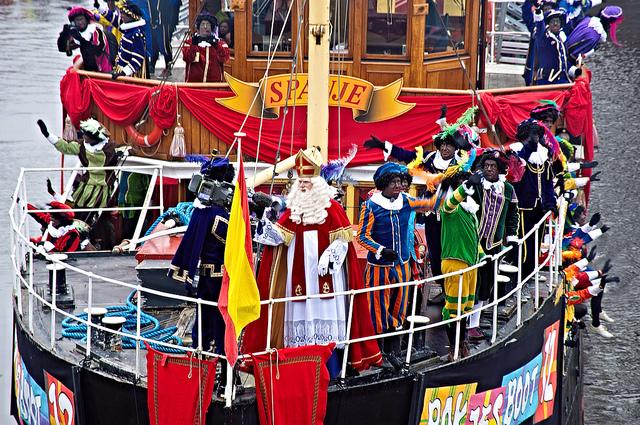 The Sinterklaas and Zwarte Piet Parade