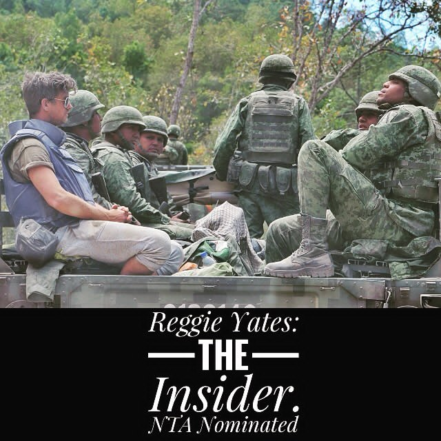 The Insider by Sam Wilkinson and Reggie Yates was nominated for National Television Awards. Picture credit to Sam Wilkinson, https://www.instagram.com/sammywilko30/