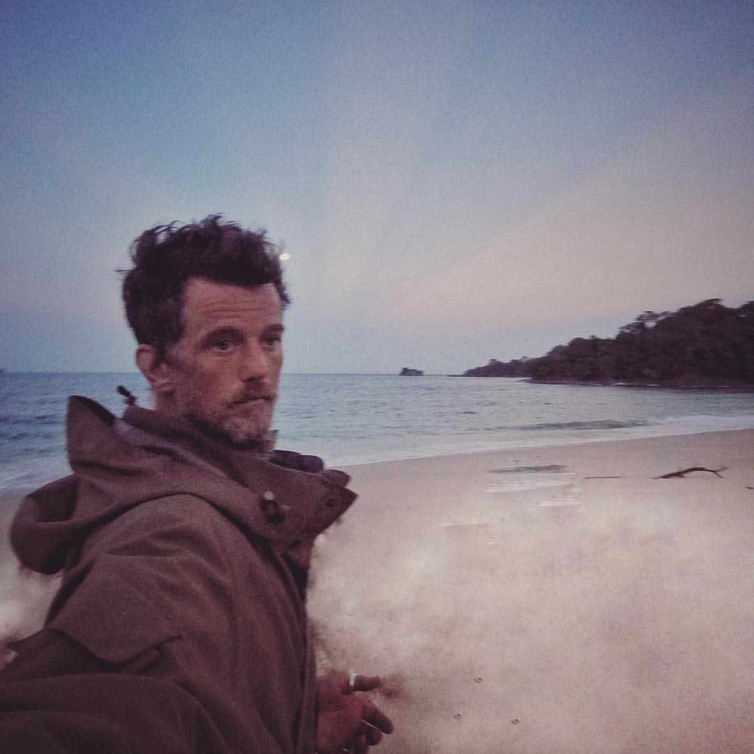 Sam Wilkinson, producer, on an Island near Panama, Picture credit to Sam Wilkinson, https://www.instagram.com/sammywilko30/