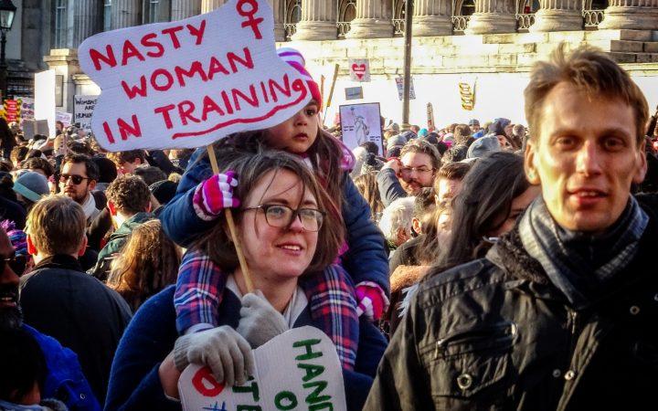 Women's March in London