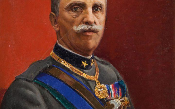 Vittorio Emanuele III d'Italia portrait