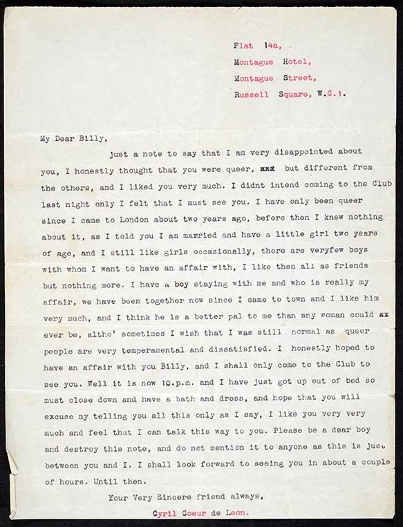 Letter about the Caravan Club
