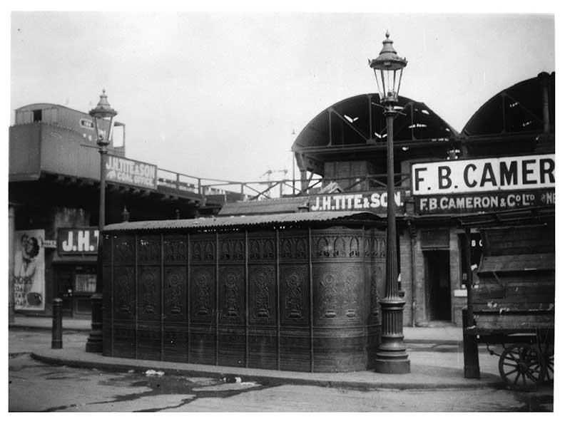 Poe's Lane public urinal, Brixton