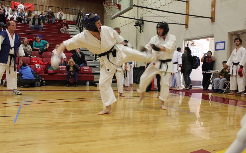 Karate bout