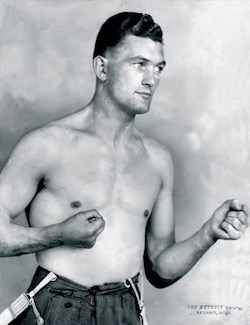 A young Jimmy Magill - Photograph provided by Paul Magill.