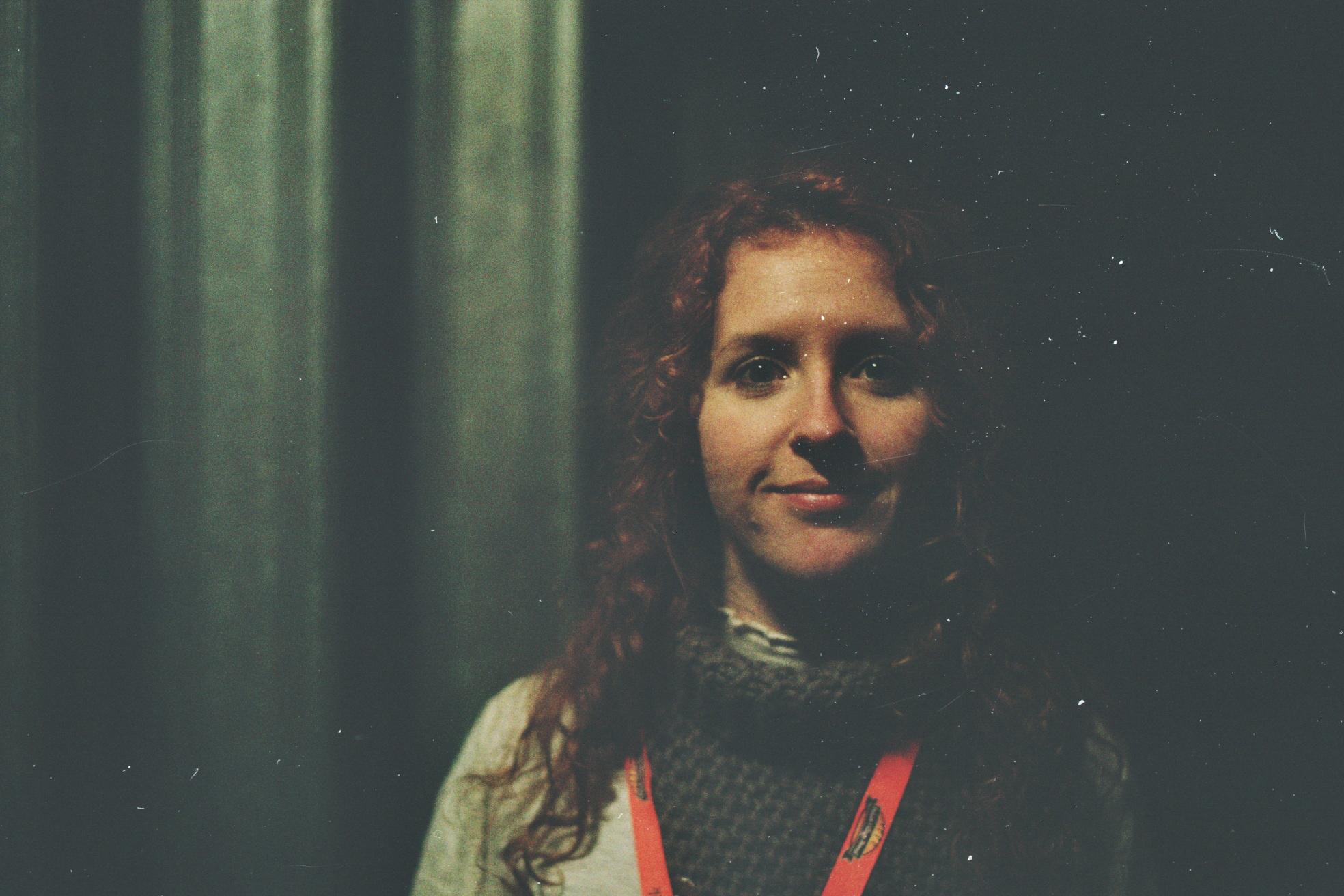Maude, a Spanish volunteer at the GOCC (WOŚP) final in London Fot. Bartosz Kielak