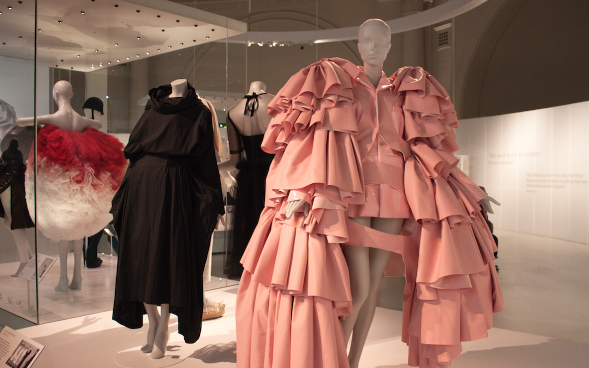 Design by Rei Kawakubo at Comme des Garcons