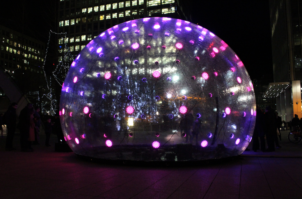 Sonic Light Bubble by Eness