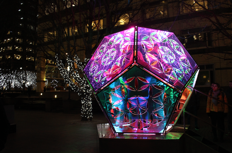 Dazzling Dodecahedron by Amber Stephani