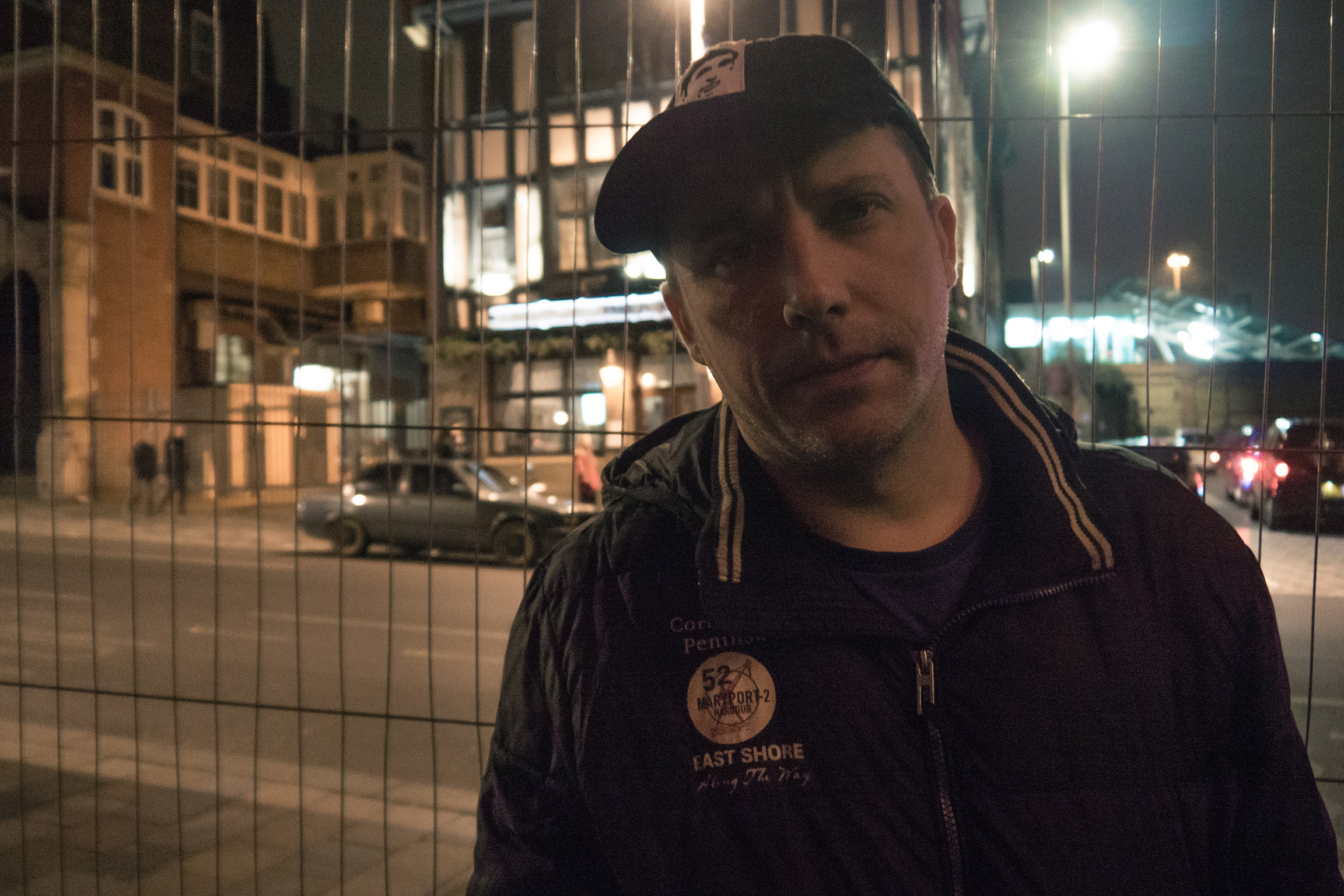Pablopavo, Polish musician, outside the GOCC (WOŚP) final in London, 2018 Fot. Bartosz Kielak