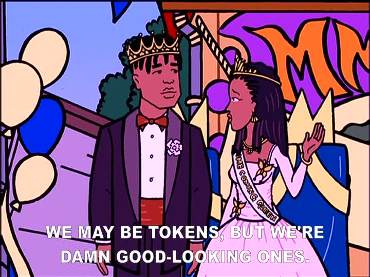 Screenshot from Daria TV Show taken by myself