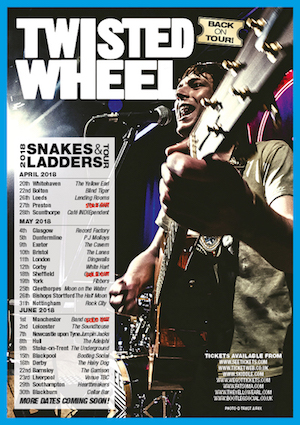 Snakes & Ladders tour poster